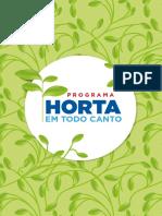Cartilha Horta Organica