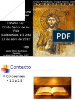 14 Cristo Senor de Mi Vida