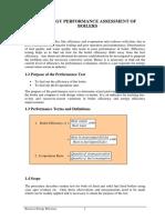 Boiler Performance Test