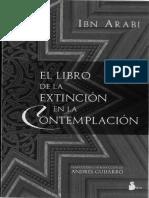 El Libro De La Extincion en La - Arabi Ibn.pdf