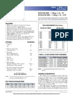 Datasheet DRAM Asincrona