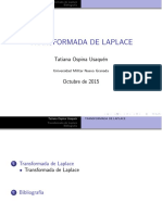 Transform LaPlace