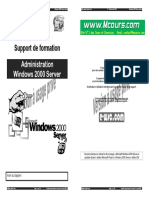Administration Windows Server 2000