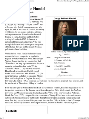G. F. Handel: A Guide to Research (Routledge Music Bibliographies)