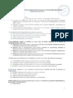 EXAMEN Profesor actividades docentes. JUNTA DE EXTREMADURA 2016