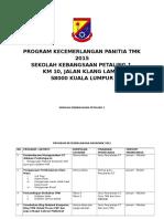 Program Kecemerlanagn Panitia TMK 2014