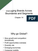Managing Brands Across Boundaries and Segments