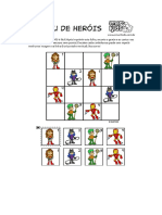 Sudoku Super Herois Atenção Crianças