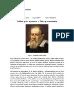 Galileo y La Física