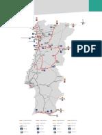 Tramos Peaje Electrónico Portugal