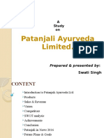 Study on Patanjali