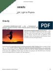Gravity _ Physics & Photography