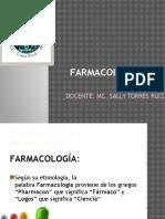 Clase 1. Farmacología