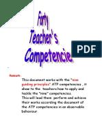 Forty Teacher's Competencies