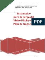 PAC Emprendedor- Incubadora - Instructivo Carga VP y PN 2016