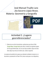 Julia Gegrafia y Geometria