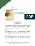 Review Bruckner, James K., Exodus