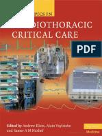 Cardiothoracic Critical Care