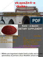 RAGI a Magic Diet