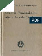 Estudios psicoanalíticos sobre [Phyllis Greenacre]