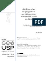 ELVIO Martins - As Dimensões Do Geográfico
