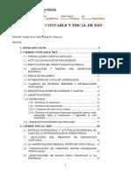 Cierre Contable y Fiscal 2015