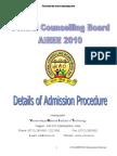 Details of Admission Procedure