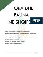 FLORA DHE FAUNA NE SHQIPERI !!!!!