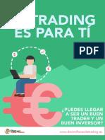 eBook El Tradin Es Para Ti DiezMilHorasDeTrading.es