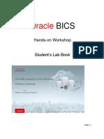 OBI Cloud Services Data Visualization Lab Book