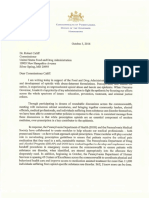 10.4.16 Gov. Wolf Letter to FDA