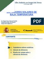 Captadores Solares de Baja Temperatura