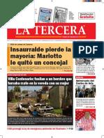 Diario La Tercera 04.10.2016