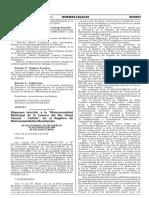 Disponen inscribir a la Mancomunidad Municipal de la Cuenca del Río Omas Yauyos - Cañete en el Registro de Mancomunidades Municipales