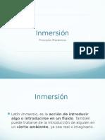 Inmersion 1