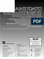 Yamaha AX 570