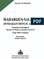 Pendakian Menuju Allah (Madarijus Salikin) (Ibnul Qayyim Al Jauzi)