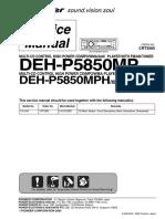 Deh p5850mp
