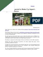 Japan Economy Newspaper Articles