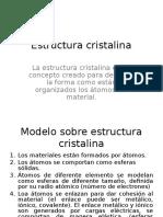 1.1 Estructura Cristalina