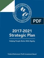FRTIB Strategic Plan 2017-2021