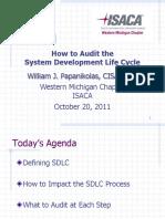 SDLC Presentation (ISACA) - 2011-10-20.pdf