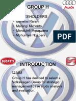 Strategic Management Presentation on VW (FINAL)