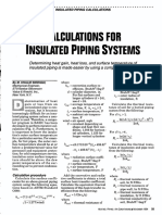 Calculations for Insulated Piping Systems - Siddiqui