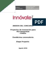 Anexos PIMEN 12. Proyecto
