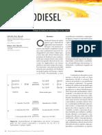 Producao de Biodiesel Por Transesterificacao de Oleos Vegetais