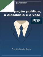 2014 - Curso de Extensão - Participação Política, Cidadania e Eleiçoes