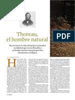 Henry David Thoreau Un Pionero Del Ecologismo Articulo en Revista Integral