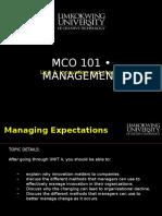 Mba Mco101 Unit 4