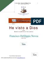 Defilippis - He Visto a Dios